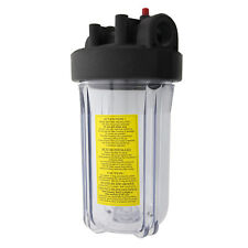 Watts W10FFPH1CBPR Full Flow Whole House 10 Inch Water Filter Housing