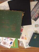 Stamp Job Lot, Covers, Packs, Loose Stamps Etc