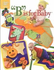 """NEW CROCHET """"B"""" IS FOR BABY 22 CUDDLY DESIGNS"""