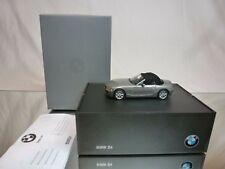 NOREV BMW Z4 + MOVABLE SOFTTOP - GREY METALLIC 1:43 - EXCELLENT IN DEALER BOX