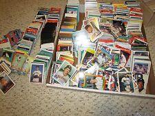 MLB DETROIT TIGERS Huge Lot (Hundreds)of Baseball Cards80's,90's & older