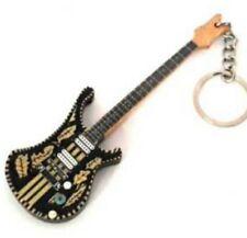 Lemmy Motorhead 10cm Wooden Tribute Guitar Key Chain