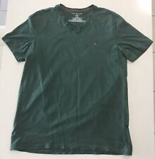 "Tommy Hilfiger Men's T-Shirt Forest Green Size L ""As New"""