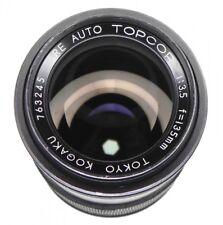 Topcon Black RE Auto 135mm f3.5 Topcor  #763245