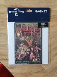Universal  Halloween Horror Nights Limited Release Magnet. BRAND NEW 2021 HHN