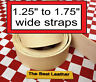 "1.25"" to 1.75"" Vegetable Tanned Tooling Leather Belt Blanks, Straps. Select Size"