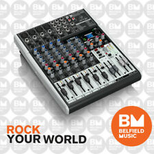 Behringer XENYX X1204USB Mixer Small Format 12 Input w/ Multi-FX Audio Interface