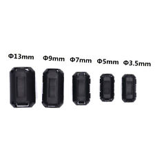 5x Clip-on Ferrite Ring Cable Clips Core RFI EMI Noise Suppressor Filter Bead B9