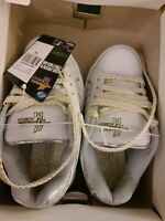 HANNAH MONTANA MILEY CYRUS GIRLS SNEAKERS SIZE 13 WHITE SUPER RARE BRAND NEW WT