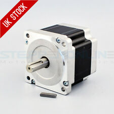 Nema 34 Stepper Motor 4.5Nm 5.5A 4-wire 14mm key-way Shaft CNC Mill Lathe Router