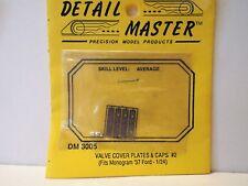 DETAIL MASTER DM-3005 1:24 SCALE FORD VALVE COVER PLATES & CAPS MOC (KS163)