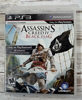 Assassin's Creed IV: Black Flag (Sony PlayStation 3, 2013) Complete Tested! B3
