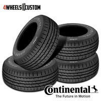 4 X New Continental ContiCrossContact LX 235/55R19 101H Tires