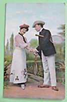 Glamour & Romance monochrome tinted Picture postcards th.E.L.theochrom SERIE1063