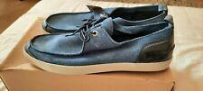Levi's Mens Blue Leather Suede Shoes UK 10, EU 45
