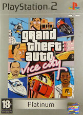 Grand Theft Auto: Vice City -- Platinum Edition (Sony PlayStation 2, 2004) - European Version