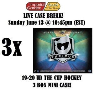 2019-20 UD THE CUP HOCKEY 3 (THREE) BOX CASE BREAK #2553- Philadelphia Flyers