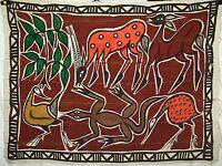 African Senufo Korhogo Cloth handmade textile fabric Africa Senoufo new k106