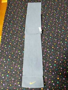 "Nike Kids Youth Unisex Gray Fleece Scarf Winter Size: 40x5"", 3-7 New Without Tag"
