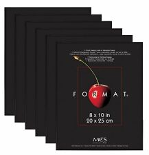 MCS Format Frame 8x10 Black Value Pack of 6 (Same Shipping Any Qty)