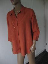 Bonita wunderschöne  Bluse Gr. XL 46 orange   3/4Arm