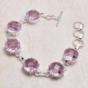 Amethyst Ethnic Handmade Bracelet Jewelry 17 Gms  AB 81614