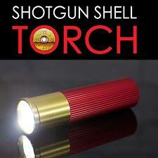 Lámpara de inspección de escopeta Shell LED Antorcha LED Luz Divertido Regalo Padres Día Camping