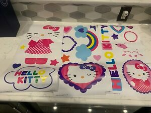 Sanrio Hello Kitty Peel & Stick Repositional Wall Decals 18 Pieces