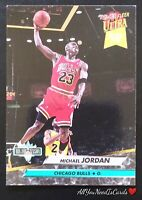 Michael Jordan 1992-93 Fleer Ultra Dunk Rank Chicago Bulls Basketball Card #216