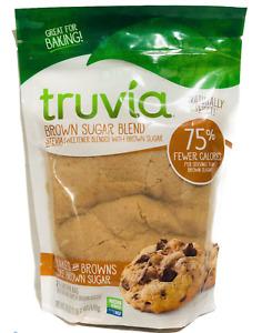 Truvia Brown Sugar Blend Mix of Natural Stevia Sweetener & Brown Sugar 18 oz