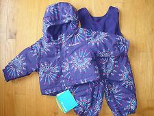 Girls 3-6 Months Purple Columbia Snowsuit Coat Jacket Pants Snowpants 2 Piece