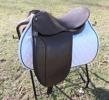 "Lovatt & Ricketts Imperial 17½"" Wide Dressage Saddle Walsall England"
