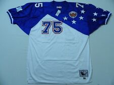 M102 MITCHELL & NESS Throwbacks 1996 Lomas Brown Pro Bowl Jersey 56 3XL