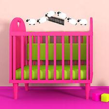 Counting Sheep Vinyl Decal Kids Baby Bedroom Wall Window Sticker Gift Help Sleep