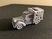 Austin Tilly - Bolt Action 1/56 scale British resin model