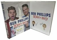 Signed Book - Sorry Bro! by Ben Phillips My Life and Elliot's Journey
