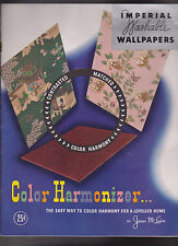 Color Harmonizer Imperial Washable Wallpapers Jean McLain 1946