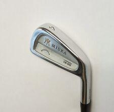 Miura Straight Neck CB-202 Forged 4 Iron Stiff Steel Shaft Golf Pride Grip