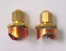 "CPS Line Piercing Saddle Tap Valve Copper 7/8"" (2-pack) Braze on Service Valve"