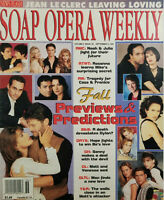 Soap Opera Weekly Sept 5 1995 Fall Preview & Predictions - Jean Le Clerc Leaves