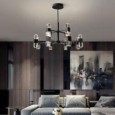LED Ceiling Lights Kitchen Chandelier Lighting Bedroom Black Lamp 3 Color Light