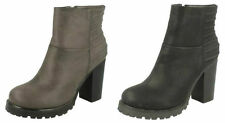 Ankle Boots Standard Width (D) Spot On Shoes for Women