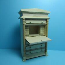 Dollhouse Miniature Unfinished Secretary Writing Desk ~ GW120