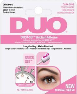DUO Quick Set Strip Lash Adhesive DARK (7g) - GENUINE DUO STRIP LASH GLUE!