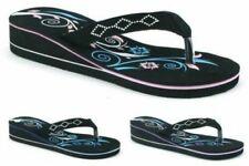 Sandali e scarpe nere senza marca per il mare da donna