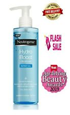 Neutrogena Water Gel Cleanser Facial Wash with Hyaluronic Acid, 200 ml