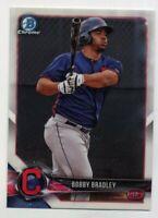 2018 Bowman Chrome BOBBY BRADLEY Rookie Card RC BCP24 Cleveland Indians PROSPECT