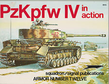 Squadron Signal Publications 1975 Number 12 PzKpfw IV in Action