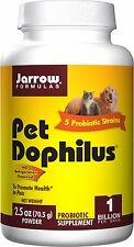 Jarrow Formulas, Pet Dophilus, 2.5 oz (70.5 g), Cat and Dog Probiotic Powder
