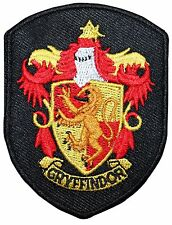 Smaller Gryffindor Hogwarts' House Shield Harry Potter Iron On Applique Patch